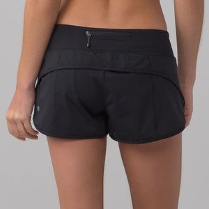 Lululemon Speed Shorts Black